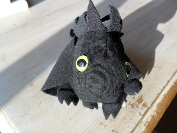 Greeneyes The Black Mini Dragon Plush