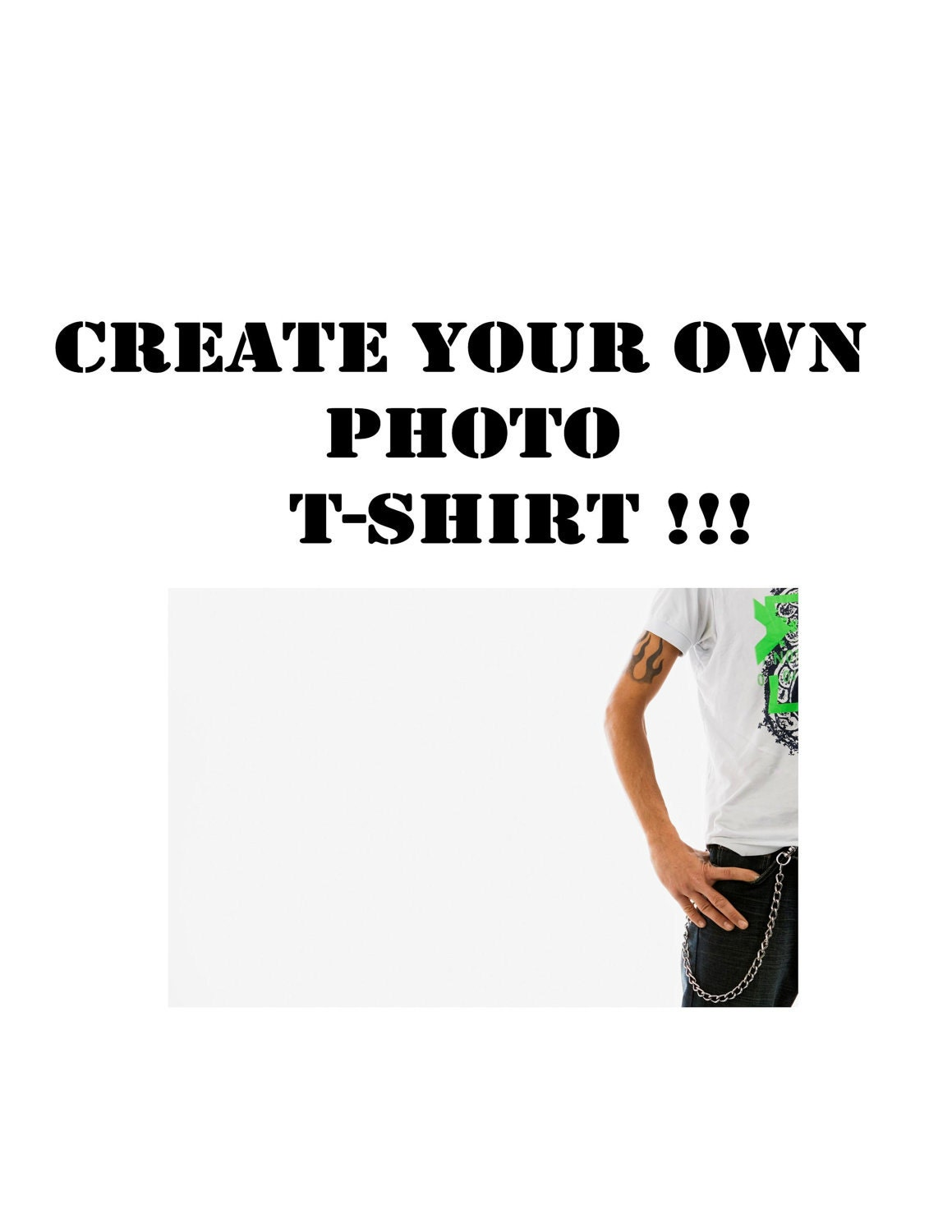 Create your own photo t shirt for Make and design your own t shirts