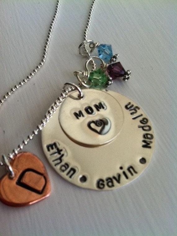 Mommy Too Necklace