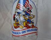 Disney on Parade 1976 COKE Bicentennial cartoon glass.