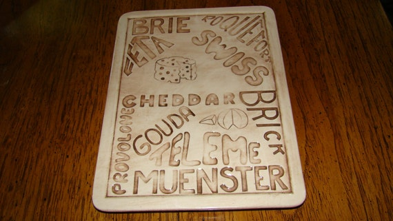 Vintage Cheese Tray or Plaque