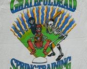 1988 GRATEFUL DEAD TOUR Shirt Vintage With Dates