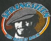 1978 BRUCE SPRINGSTEEN Vintage Tour T Shirt 70s