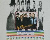 Vintage PAUL McCARTNEY 1989 Tour T Shirt