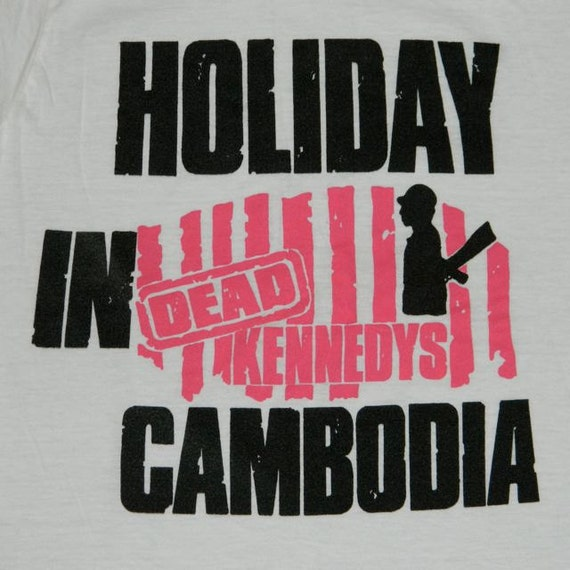 DEAD KENNEDYS VINTAGE T Shirt Original 80s