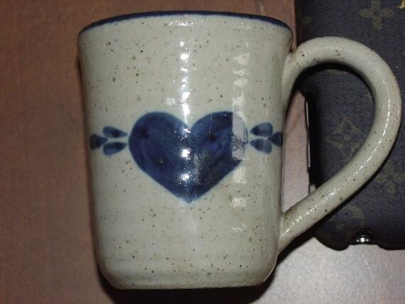 Vintage Pottery Pinewood Valley Stoneware Mini Mug