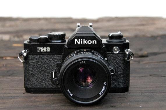 Nikon FM2 with 50mm 1.8 Nikkor Lens