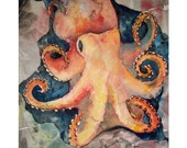 SALE-PRINT- Cephalopod (OCTOPUS) from OceanLove Series