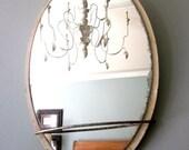 Vintage Vanity Mirror Oval