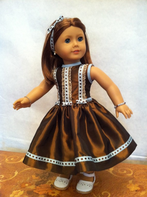 Dinner Party Doll Dress 2012 Couture Collection  - fits 18 inch American Girl Style Doll - 7