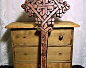Handmade Wooden Ethiopian Coptic Hand Cross