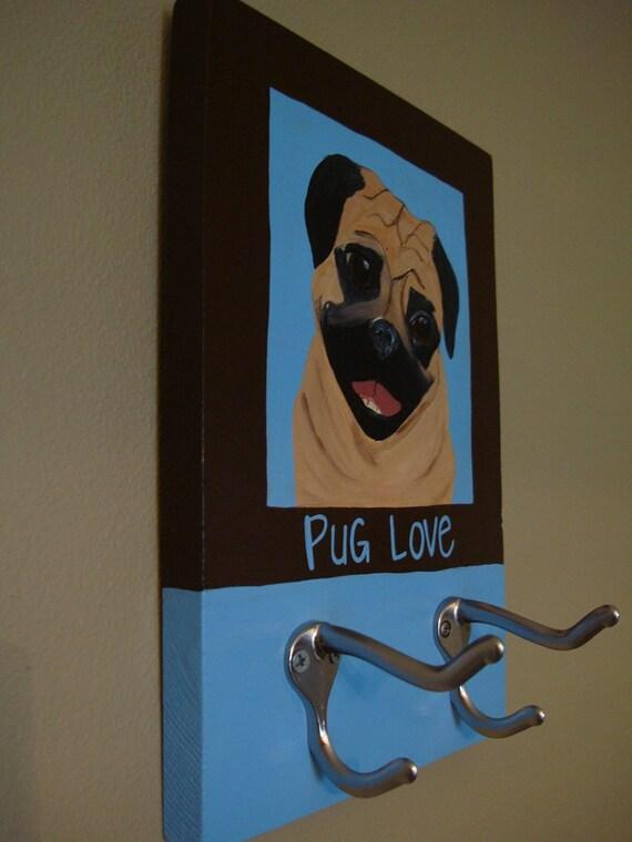 Dog portait leash holders