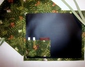 Forest Friends Chalkboard Mat For Kids/Placemat