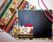 Doggies Galore Chalkboard Mat For Kids/Placemat