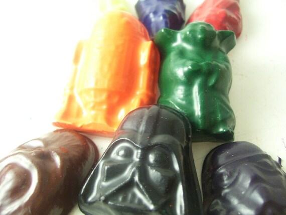 Star Wars Crayons - Set of 8 - CrayonMavens