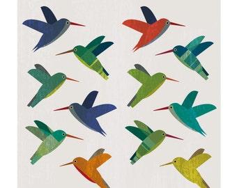 Hummingbirds  Wall Art Home Decor / Printable Art / Art Print / Digital Art / INSTANT DOWNLOAD