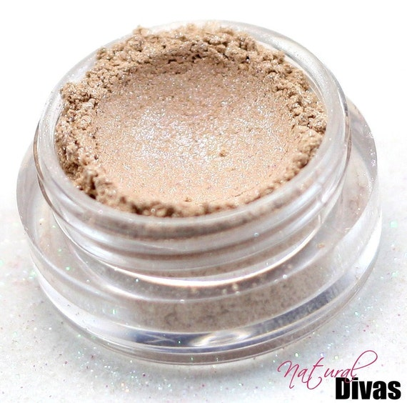 Mineral Eyeshadow - Cream & Sugar - Natural Makeup Eye Shadow Highlighter