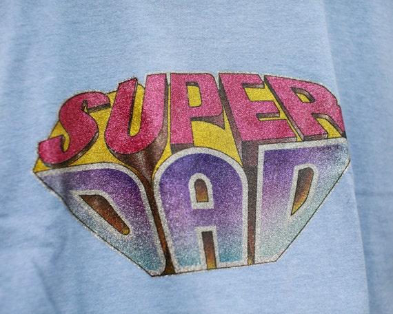 SUPER DAD Vintage Summer Tshirt