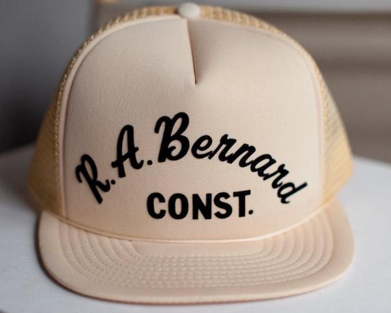 Sweet Vintage Cream Colored Mesh Hat - RA Bernard