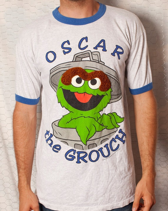 OSCAR The Grouch - Sesame Street Tshirt