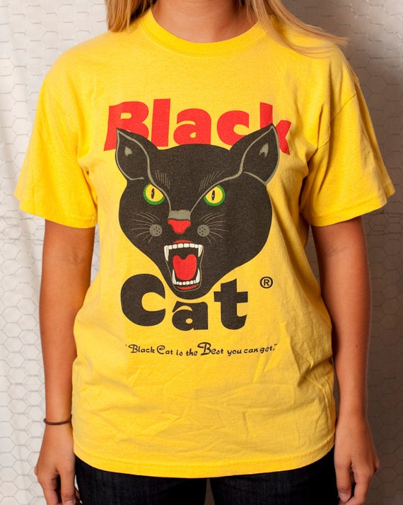 BLACK CAT - Black Cat is the Best you can get - Tshirt - M