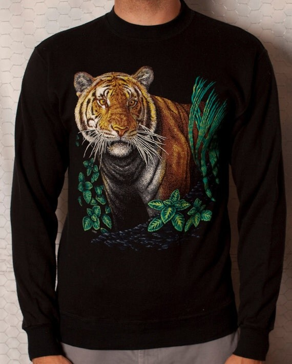 Awesome Tiger Sweatshirt - L