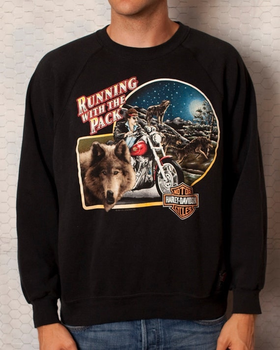 HARLEY-DAVIDSON Pacific Honolulu Hawaii - Running With The Pack - Sweatshirt