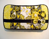 Baby diaper wipe case, diaper pocket, baby shower gift - The Stephanie - READY TO SHIP