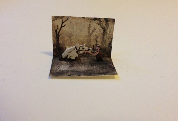 NeverEnding Story Pop-up Card