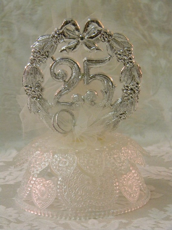 Vintage Wilton Silver 25th Anniversary Wedding By TheVintageBrides