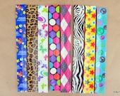 You Choose Duct Tape Slap Snap Bracelets Party Favors
