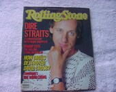 Rolling Stone Magazine Issue No 461 November 21st, 1985  Dire Straits