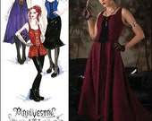 Simplicity Pattern 2757 Size 14-22 Arkivestry, Haunt Couture, Dress, Old Fashion, Steam Punk, Vampire, Overdress, Skirt, Bodice - 9Pieces