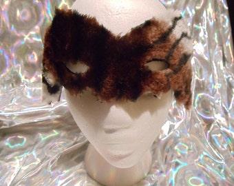 Bat mask- furry  animal print
