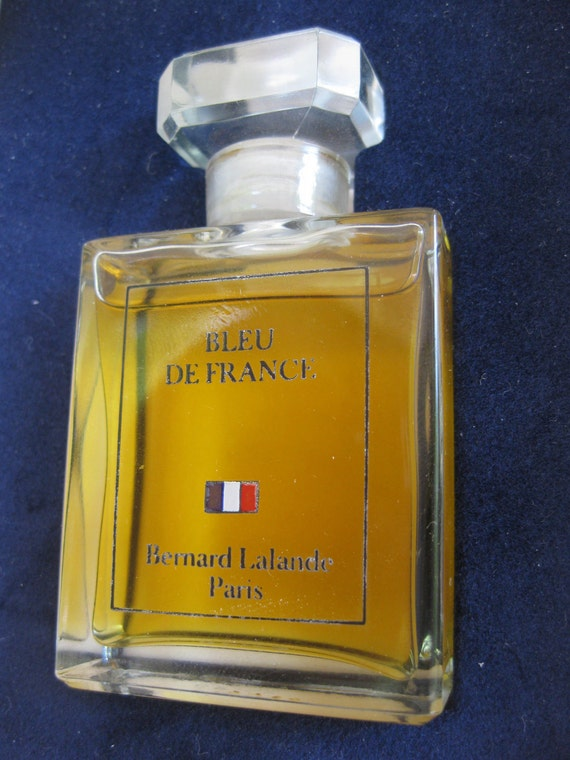 Bleu De France Parfum by Bernard Lalande in Original Box with Original Price Tag, FF192.00
