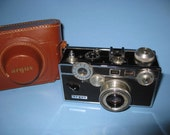 Argus C3 35mm Camera With Leather Case Rangefinder Camera - Free Shipping