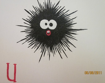 U is for Urchin.