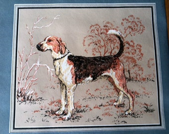 Vintage Wallpaper-1970s Dogs- Very Unique- by the yard