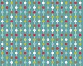 Love Birds by Deena Rutter for Riley Blake, Stripes Blue, SKU C7092, 1 yd