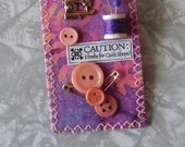 Quilt, Sewing Pin (Brooch)
