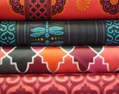 Patty Young Grand Bazaar Sari Wrap fabric Line for Michael Miller
