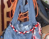Upcycled Jeans Bag Custom