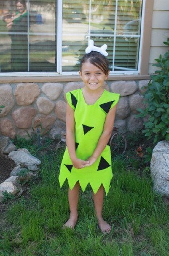 Pebbles costume green 0-5t