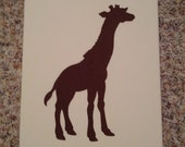 Giraffe Nursery Wall Hanging