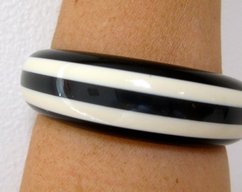 Bangle Shultz look Stripe Vintage