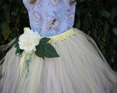 inspired by princess Tiana birthday tutu set, outfit for Disney vacation, Halloween costume
