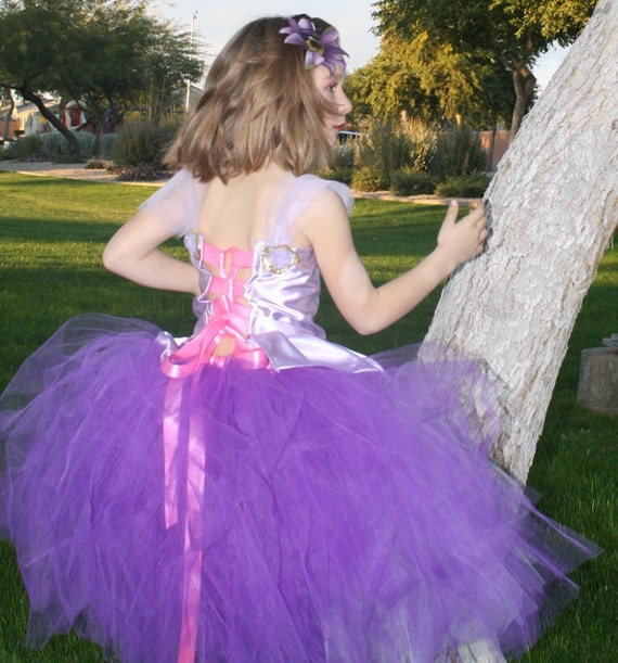 Inspired from disney princess Tangled/Rapunzel Halloween,birthdays,disney vacations Rapunzel Costume adults are welcome for birthday parties