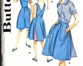 Vintage 60's  Wrap Skirt, Wrap Jumper, Blouse, and Shorts Size 16 Bust 36 Butterick 2745