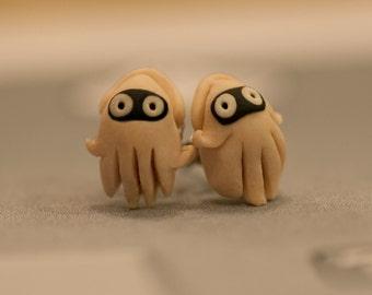Bloopers Squid Earrings Mario