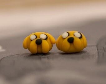 Adventure Time Jake Earrings